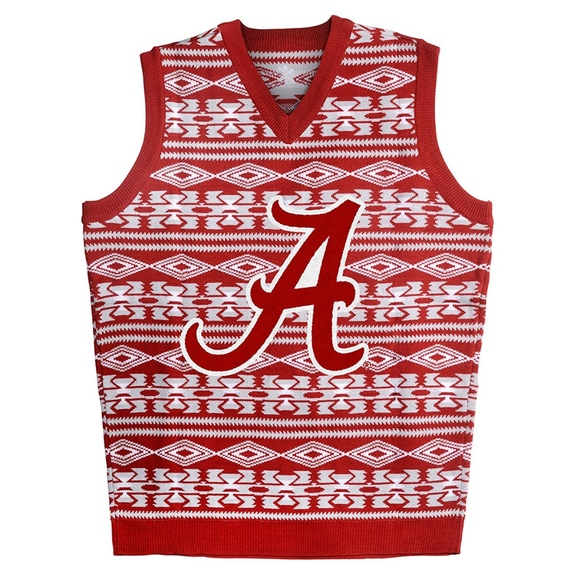 Klew Sweaters Ugly Christmas Sweater Vest Alabama Ncaa New Poshmark